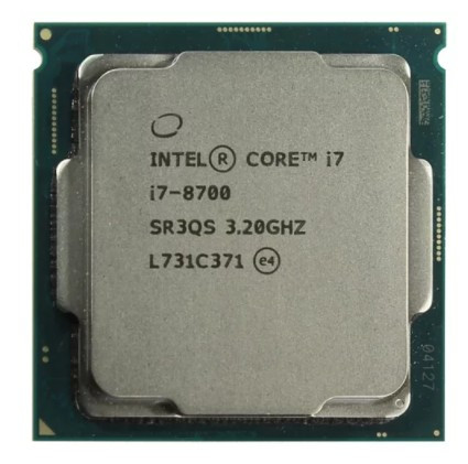 Процессор Intel Core i7-8700 Tray