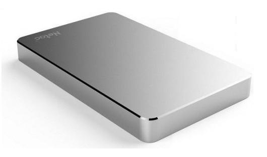 """Жесткий диск внешний 1Tb 2.5"""" USB3.0 Netac K330 / Silver [NT05K330N-001T-30SL]"""