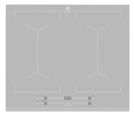 Варочная панель EIV64440BS