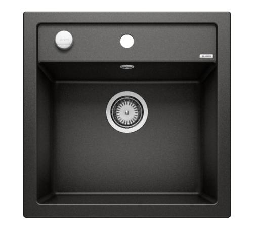 Мойка Blanco Dalago 5 Silgranit PuraDur II черный с клапаном-автоматом