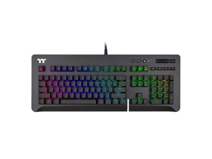 Механическая клавиатура Tt eSPORTS by Thermaltake Level 20 GT RGB Cherry MX Silver (GKB-LVG-SSBRU-01)