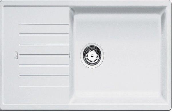 Мойка Blanco Zia XL 6S Compact Silgranit белый