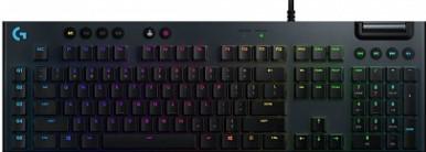 Игровая механическая клавиатура Logitech G815 (Linear switch) с RGB подстветкой LIGHTSYNC (920-009007)