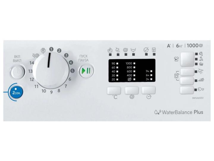 Стиральная машина INDESIT BWSA 61051 WEU