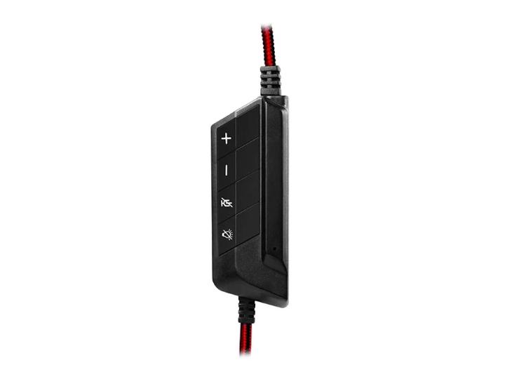 Компьютерная гарнитура SVEN AP-U997MV USB LED 7.1 black/red