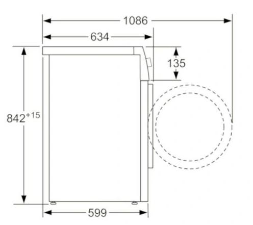 Сушильная машина Bosch WTX87K40PL