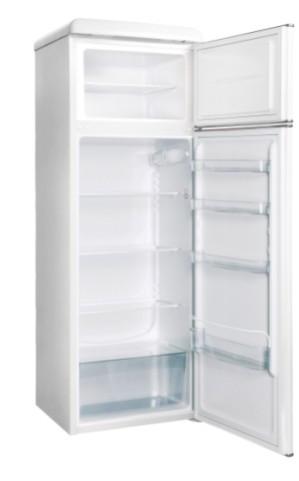 Холодильник Snaige FR26SM-PR000E Retro белый/серебро