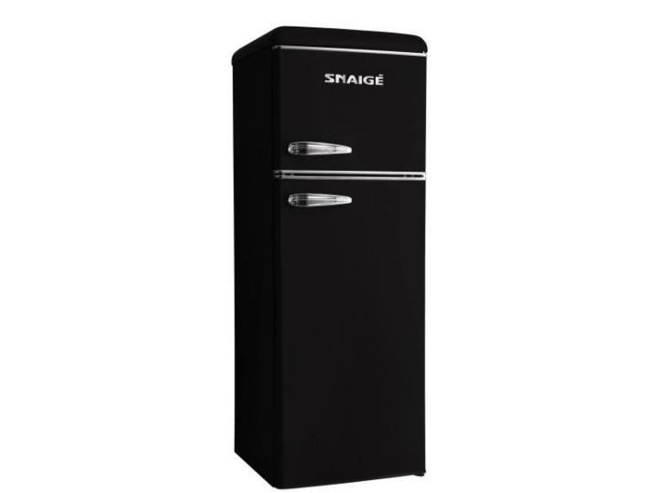 Холодильник Snaige FR25SM-PRJ30F Retro черный/серебро