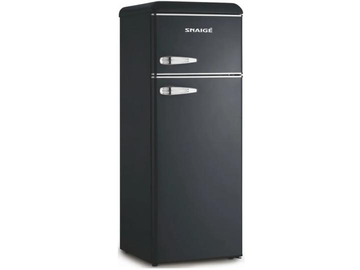 Холодильник Snaige FR24SM-PRJ30E Retro черный/серебро