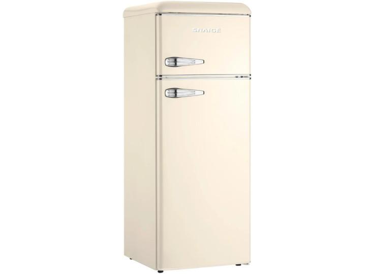 Холодильник Snaige FR24SM-PRC30E Retro крем/серебро