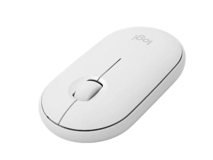 Беспроводная мышь Logitech Pebble M350 White