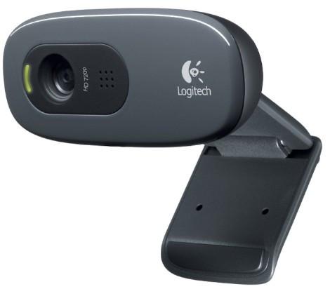 Веб камера Logitech C270 720p/30fps, угол обзора 60° (960-001063)