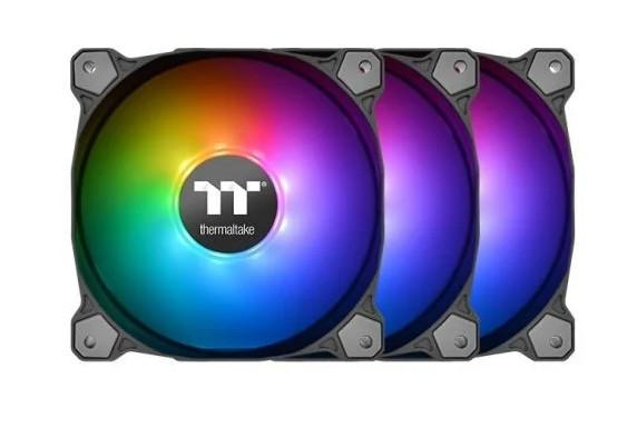 Комплект кулеров для корпуса Thermaltake Pure 12 ARGB Sync Radiator Fan TT Premium Edition (3-Fan Pack)