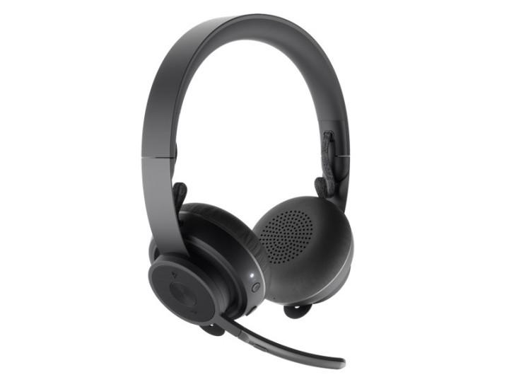 Наушники с микрофоном Logitech Zone Wireless MS Teams Headset Stereo 981-000854