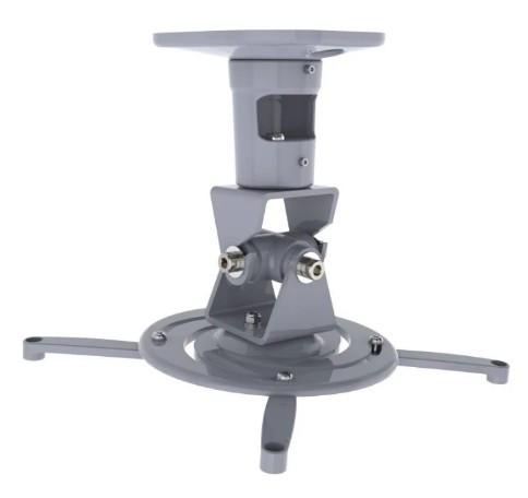 Кронштейн для проектора Cactus CS-VM-PR01-AL серебристый макс. 10кг настенный и потолочный поворот и наклон