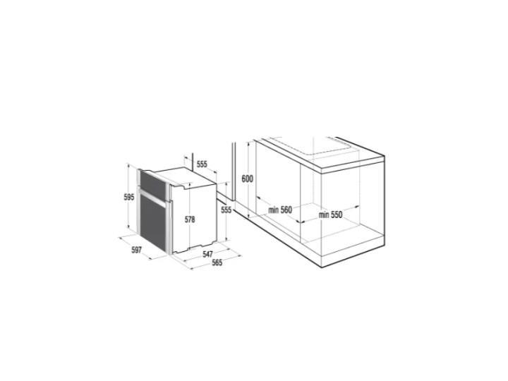 Духовой шкаф KORTING OKB 760 FW