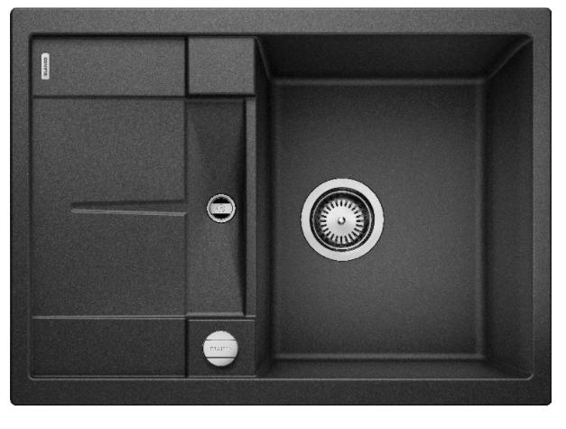 Мойка Blanco Metra 45S Compact Silgranit PuraDur II антрацит