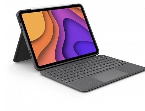 Клавиатура-чехол Logitech Folio Touch (920-010000) для iPad Air (4-го поколения)