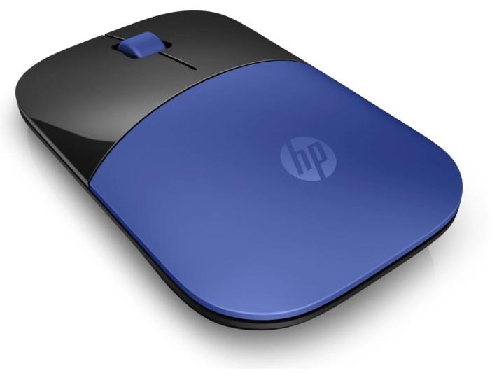 Беспроводная мышь HP Wireless Z3700 Black/Blue USB (V0L81AA)