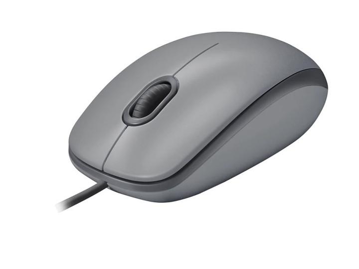 Мышь Logitech M110 Silent USB Mid Grey 910-005490