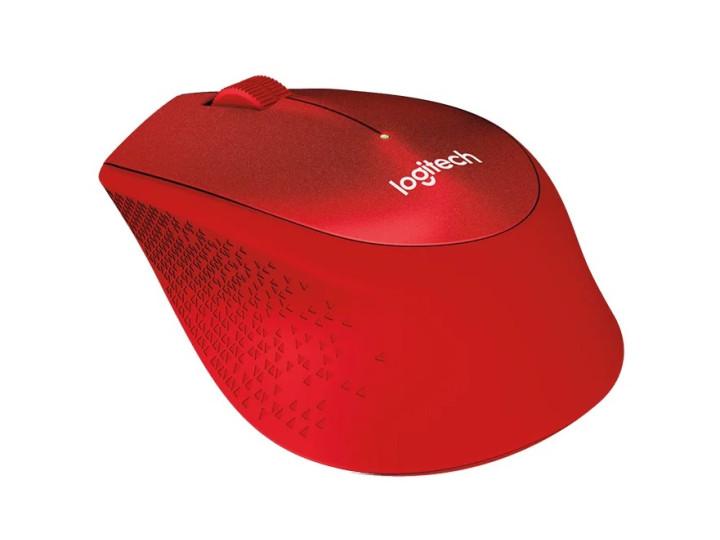 Беспроводная мышь Logitech M330 SILENT PLUS Red (910-004911)