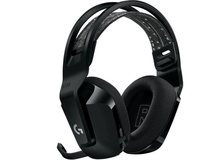Игровые беспроводные наушники с микрофоном Logitech G733 LIGHTSPEED Black (981-000864)