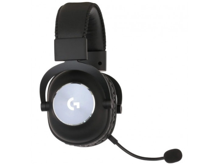 Игровые беспроводные наушники с микрофоном Logitech PRO X LIGHTSPEED Black (981-000907)