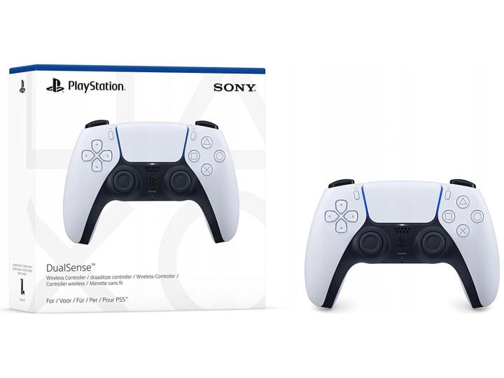 Игровая приставка Sony PlayStation 5 825 Гб, белый + Дополнительный контроллер + 2 игры в подарок