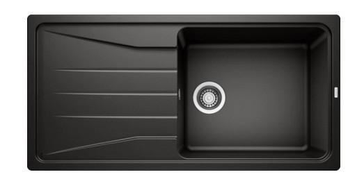 Врезная кухонная мойка Blanco Sona XL 6S Silgranit PuraDur II черный