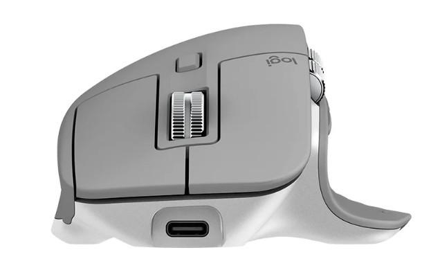 Беспроводная мышь Logitech MX Master 3 Mid Grey (910-005695)