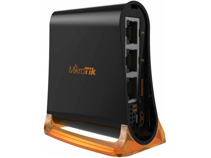 Маршрутизатор Mikrotik hAP mini (RB931-2nD) N300 Wi-Fi 3-портовый роутер