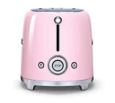 Тостер Smeg TSF01PKEU розовый