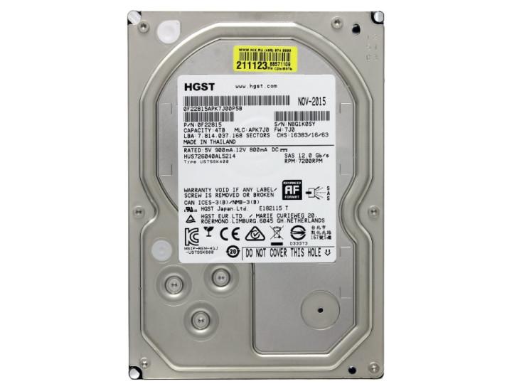 Жесткий диск HGST HUS726040AL5214