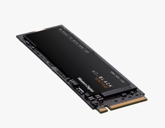 Твердотельный накопитель SSD M.2 500GB WD Black SN750 WDS500G1B0E