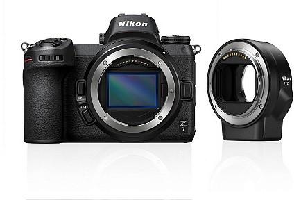 Фотоаппарат NIKON Z 7 + FTZ Adapter Kit/ black [VOA010K002]