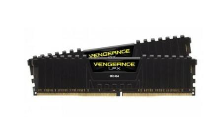 Оперативная память Corsair Vengeance LPX 16GB (2x8Gb KIT) DDR4 3000MHz CMK16GX4M2D3000C16