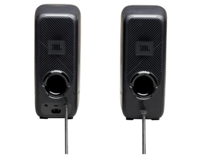 Колонки 2.0 JBL Quantum Duo / 20W / Bluetooth / Питание - 220В / Чёрный / корпус - пластик