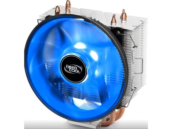 Кулер Deepcool GAMMAXX 300 B socket 1366/115X/775/AM2/3/4/FM2, CPU cooler 120mm fan, 130W