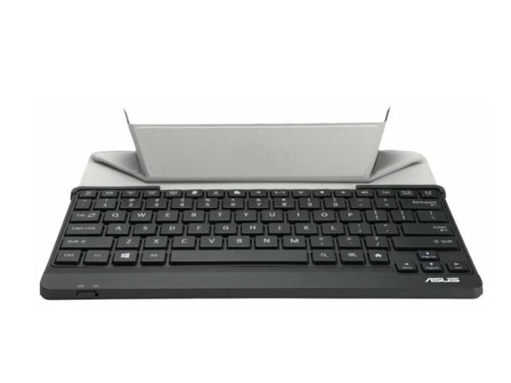 Клавиатура беспроводная ASUS TRANSKEYBOARD чёрная (Bluetooth 3.090XB01IP-BKB070)