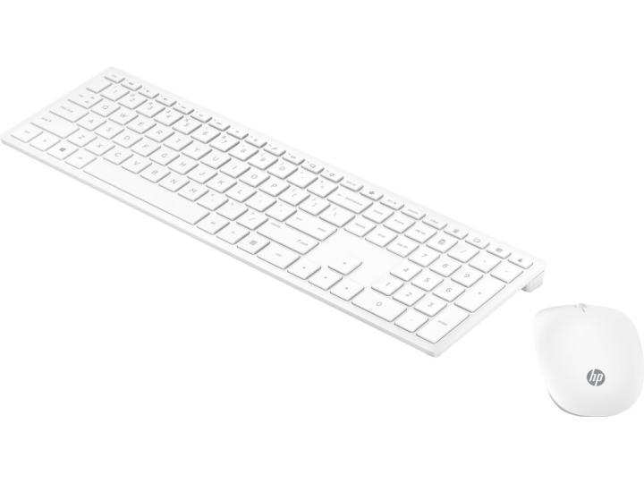 Комплект беспроводной клавиатура+мышь HP Pavilion 800 Wireless White (4CF00AA)