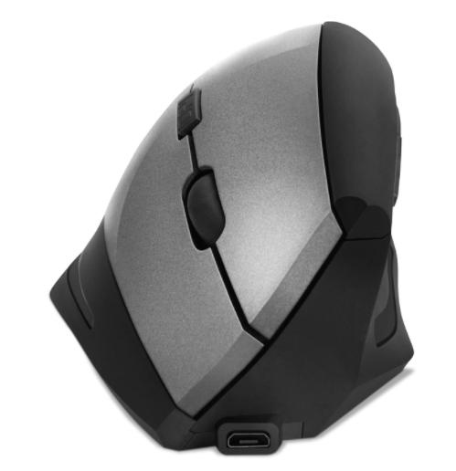 Беспроводная вертикальная мышь SVEN RX-580SW USB 800/1200/1600dpi gray