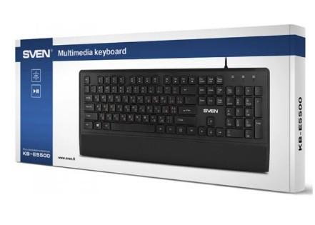 Клавиатура SVEN KB-E5500* USB