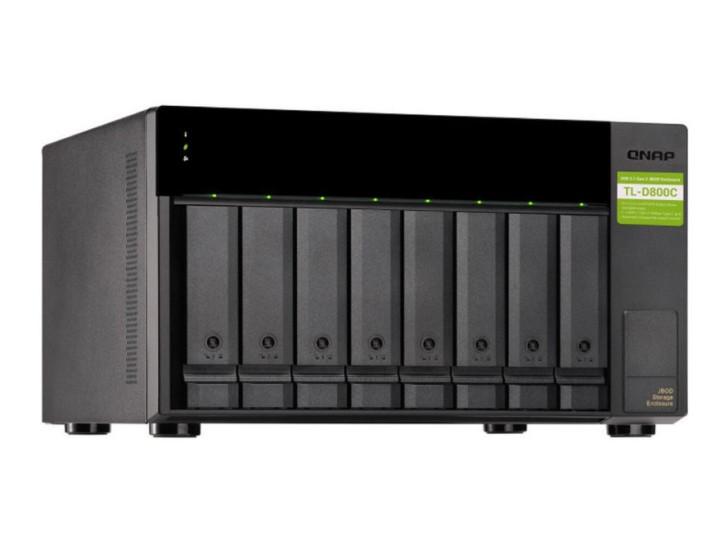 Сетевой накопитель QNAP TL-D800C