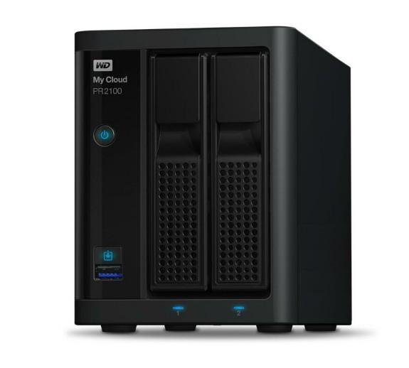 Сетевой накопитель WD My Cloud Pro PR2100 4TB (WDBBCL0040JBK)