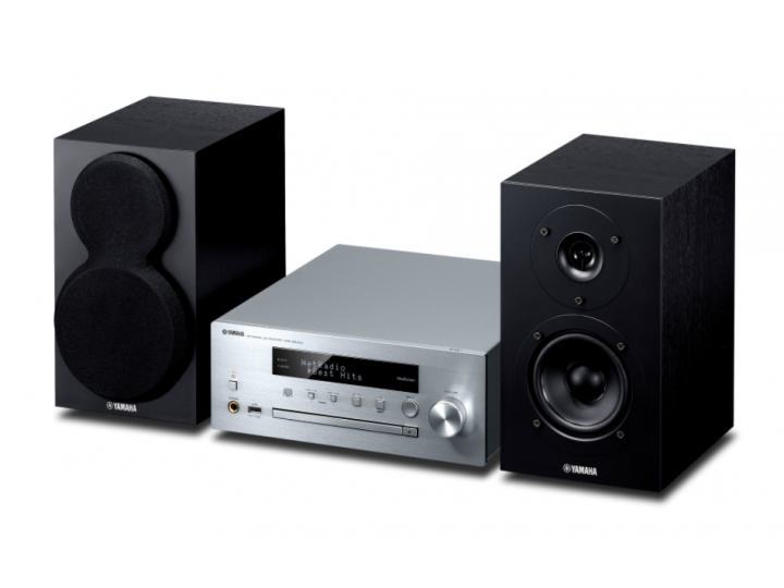 Музыкальный центр Yamaha MusicCast MCR-N470D PianoCraft (silver)