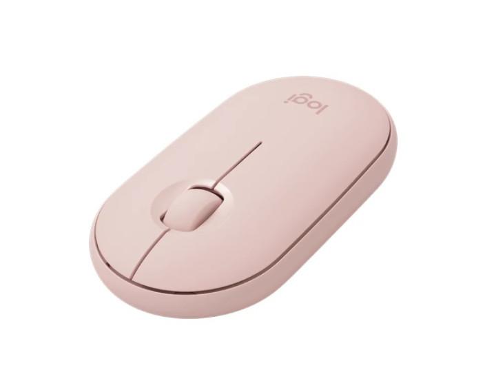 Беспроводная мышь Logitech Pebble M350 Rose