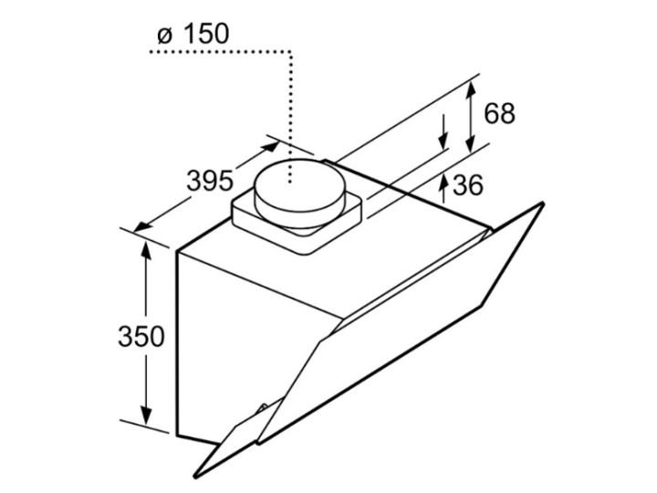 Вытяжка Bosch DWK 65AJ90R
