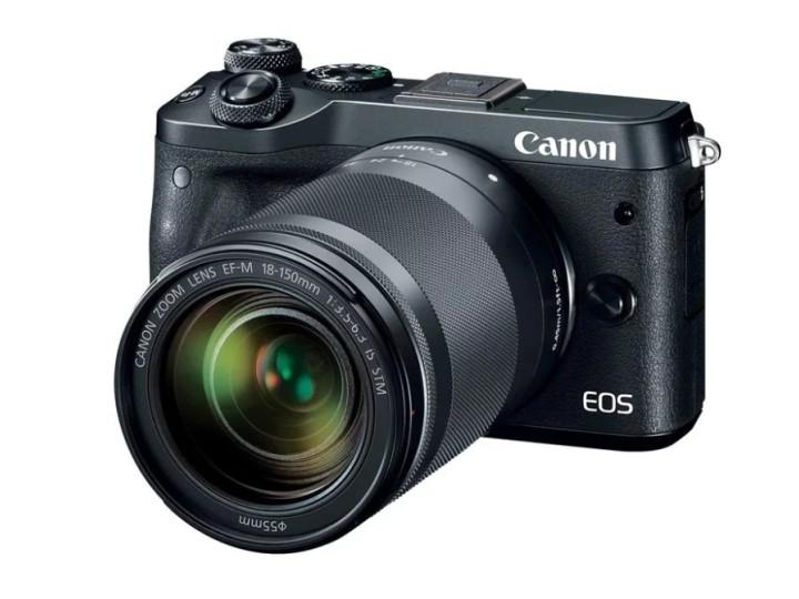 Фотоаппарат Canon EOS M6 BK M18-150