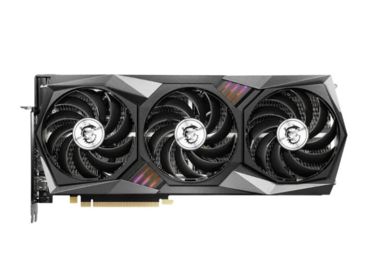 Видеокарта MSI GeForce RTX 3070 GAMING Z TRIO 8G LHR