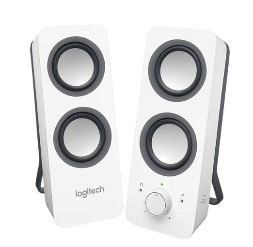 Компьютерная акустика Logitech Z200 white (980-000811)